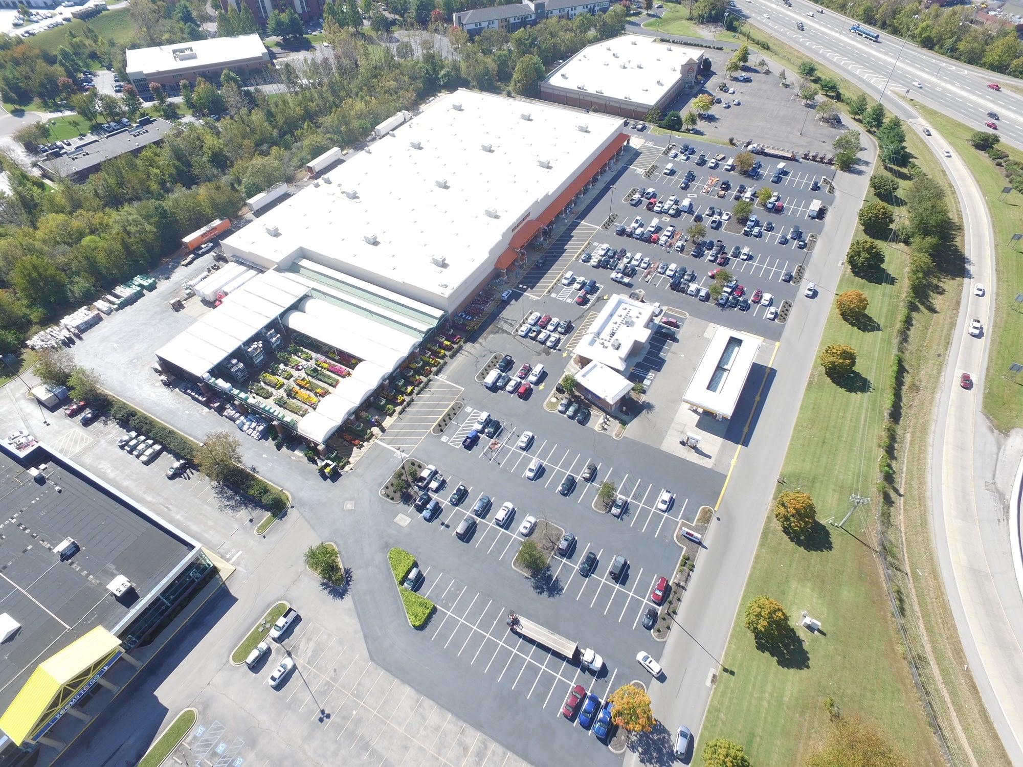 HD - Brentwood TN Aerial