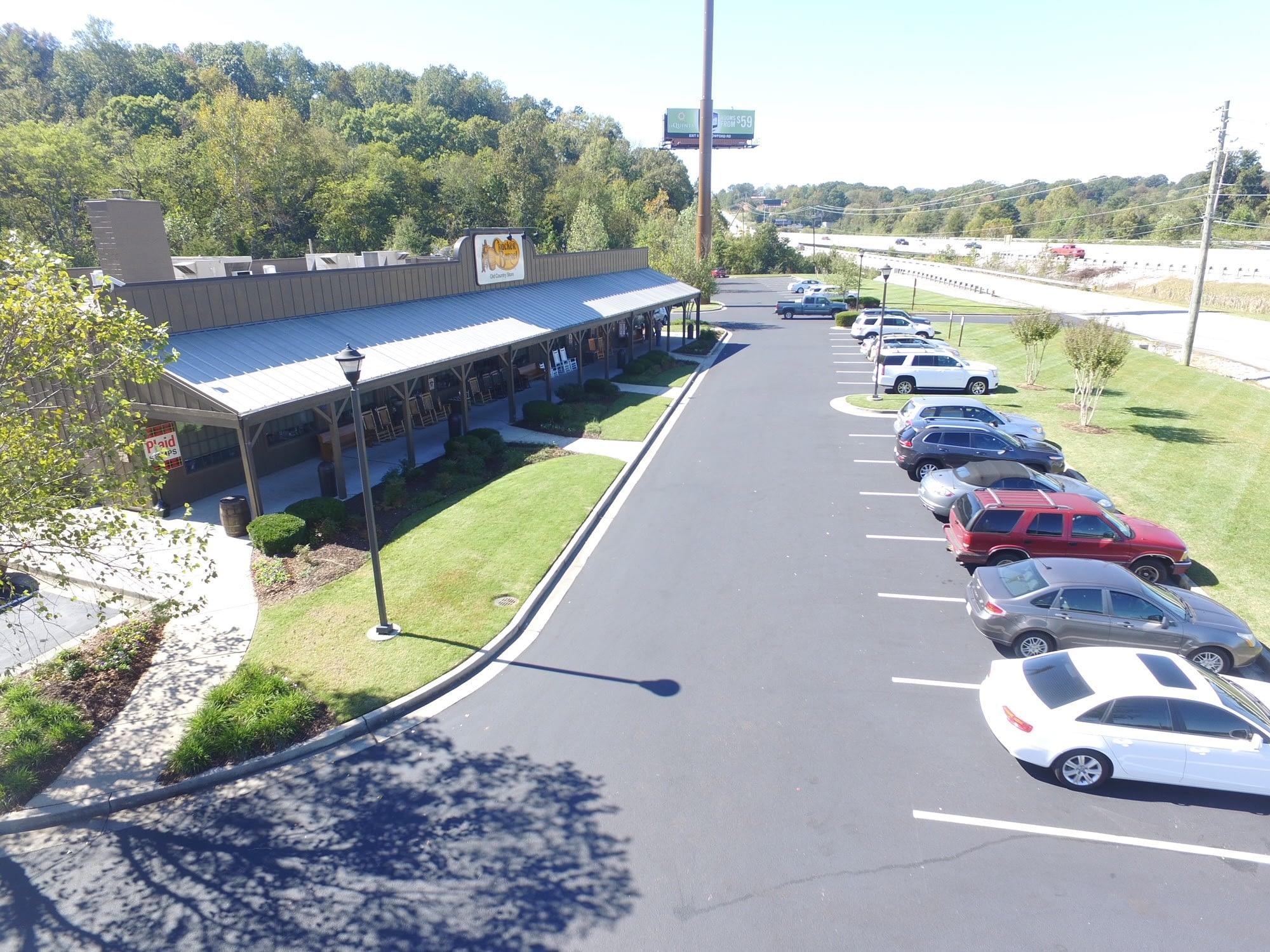 Cracker Barrel Store Front- Ooltewah, TN