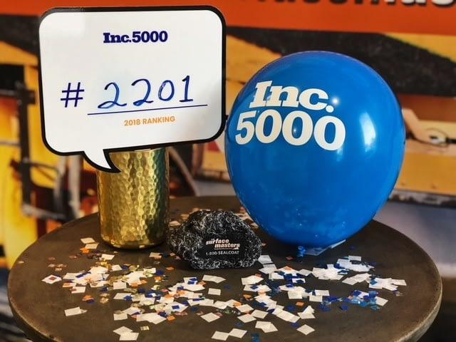 2018 Inc. 5000